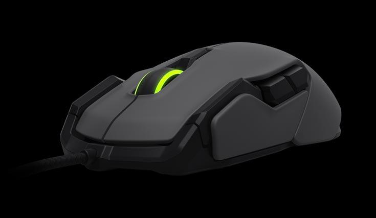 Покупатель мыши Roccat Kova сможет выбрать устройство белого и черного цвета