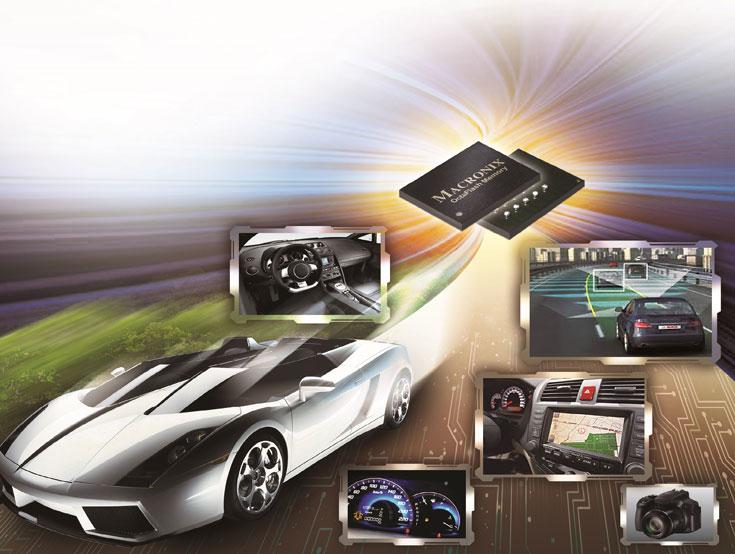 По словам Macronix, флэш-память OctaFlash оптимально подходит для автомобильной электроники