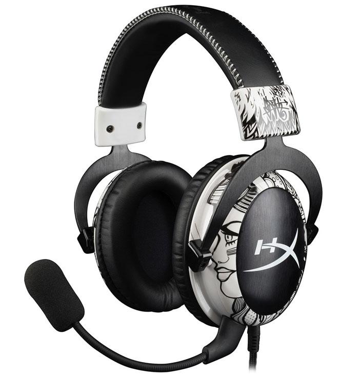 Масса гарнитуры HyperX Cloud Mav Edition с микрофоном и кабелем составляет 350 г