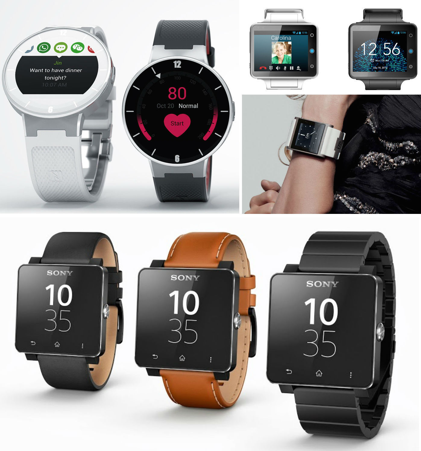Вспоминаем и наблюдаем: подборка умных часов не на Android Wear - 1