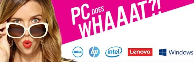Microsoft, Intel, Dell, HP и Lenovo запустили первую в истории совместную рекламную кампанию PC Does What?