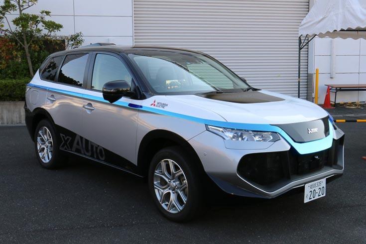 Mitsubishi Electric рассчитывает вывести робомобили на рынок в 2020 году