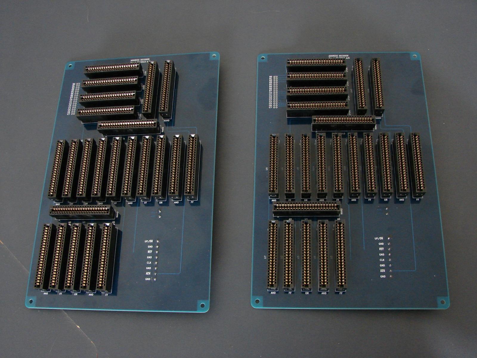 T1 — дискретный 8-битный DIY компьютер - 8