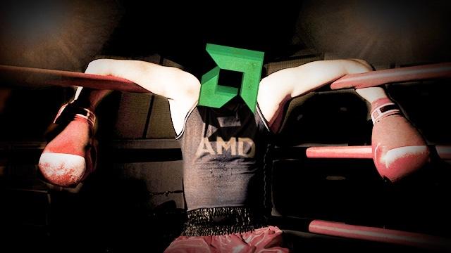 Компания AMD получила квартальный убыток в $158 млн - 1