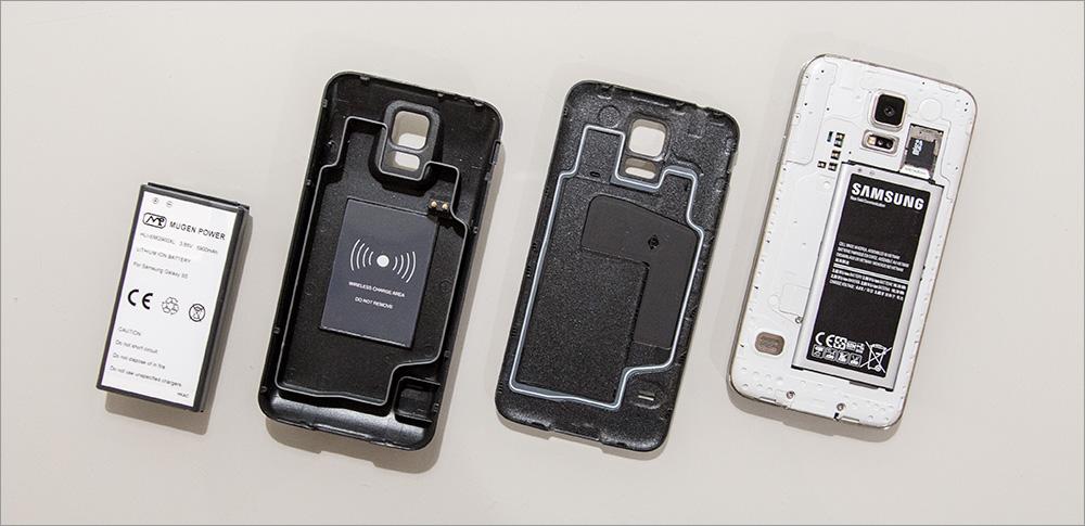 Обзор аккумулятора повышенной ёмкости для Samsung Galaxy S5 - 3