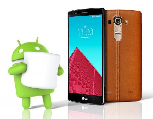 Поляки первыми получат ОС Android 6.0 Marshmallow для LG G4