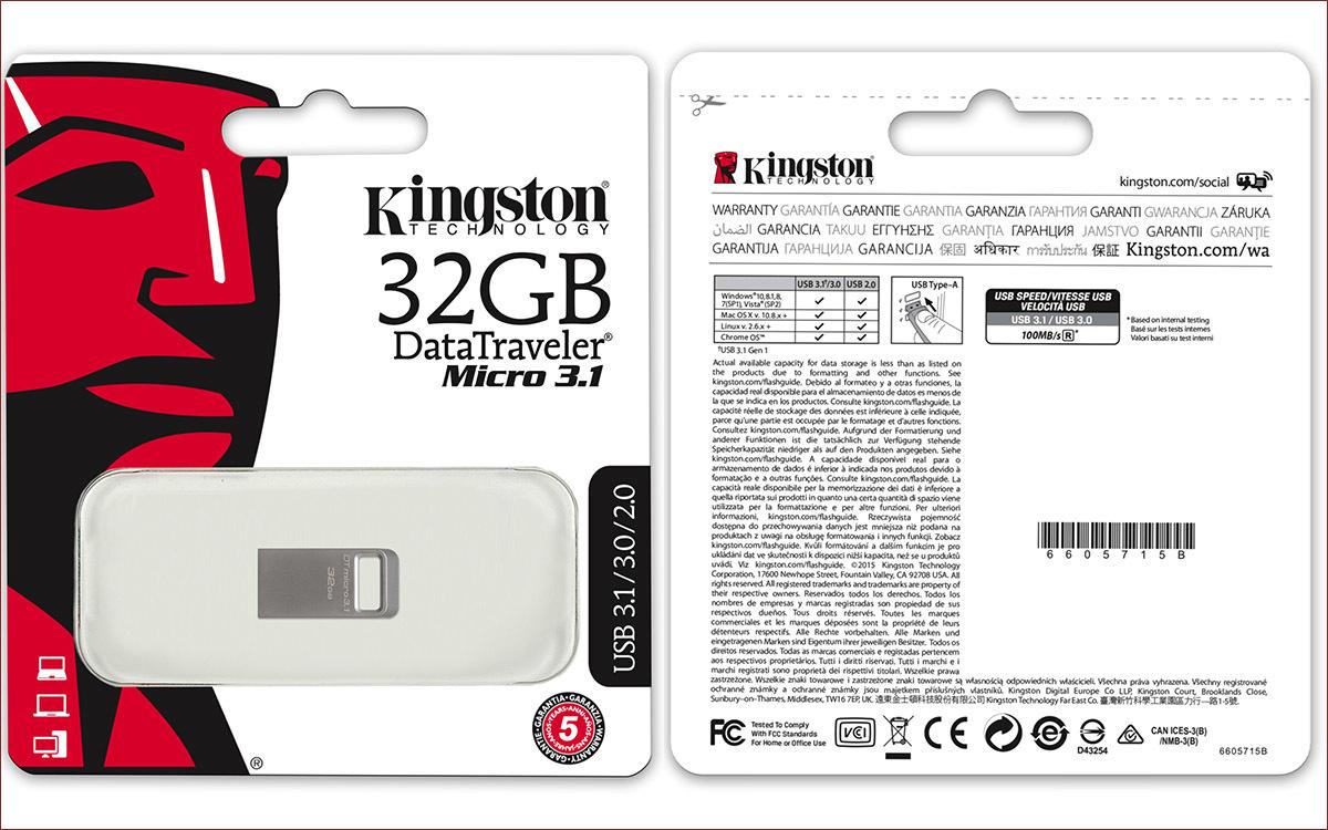[Тестирование] USB накопитель Kingston DataTraveler micro 3.1 емкостью 32 гигабайта - 3