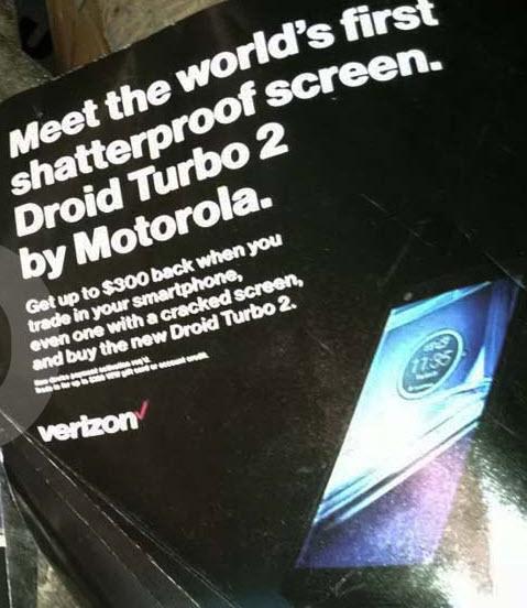 Motorola рекламирует Droid Turbo 2, как первый в мире смартфон с небьющимся экраном
