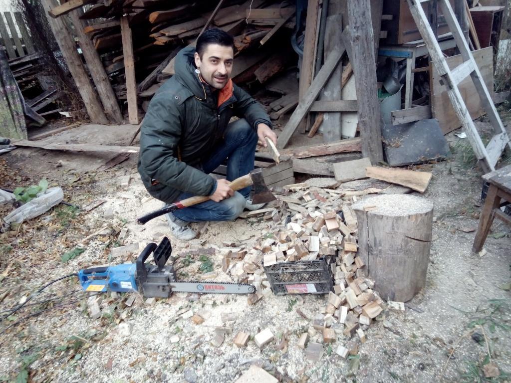 Газ из дров своими руками