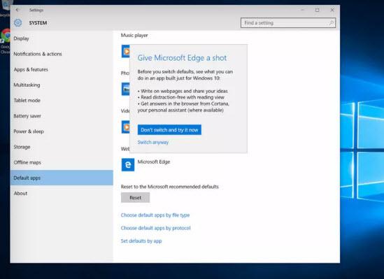 Microsoft просит пользователей Windows 10 дать шанс родным приложениям ОС