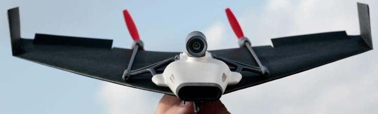 По словам производителя, PowerUp FPV — единственный бумажный самолетик с функцией видеотрансляции от первого лица