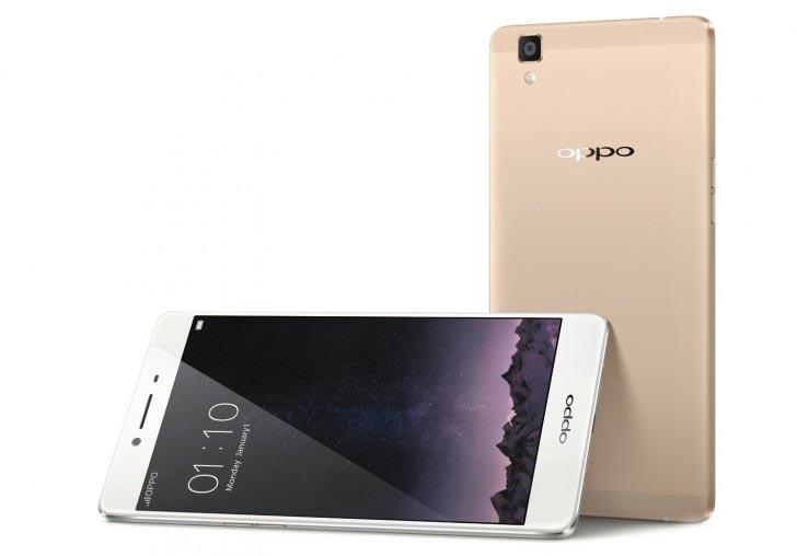Смартфон Oppo R7s построен на SoC Qualcomm Snapdragon 615