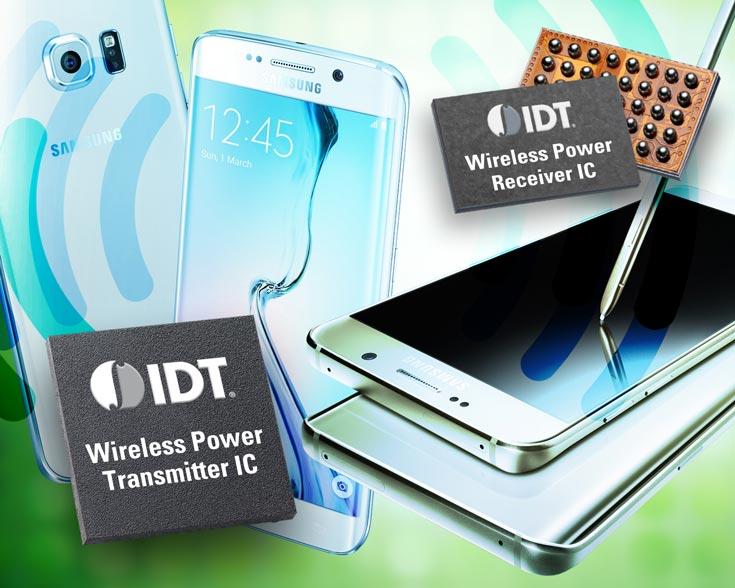 Разработки IDT нашли применение в смартфонах Samsung Galaxy S6 edge+ и Galaxy Note5