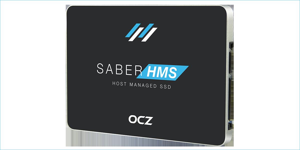OCZ Storage Solutions анонсирует технологию Host Managed SSD в моделях Saber 1000 - 1