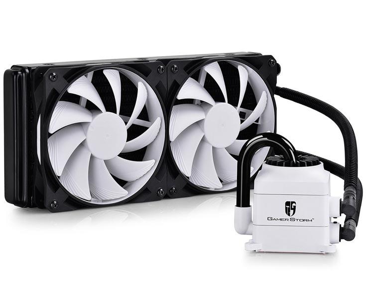 О цене и сроке начала продаж СВО DeepCool GamerStorm Captain 240 White пока данных нет