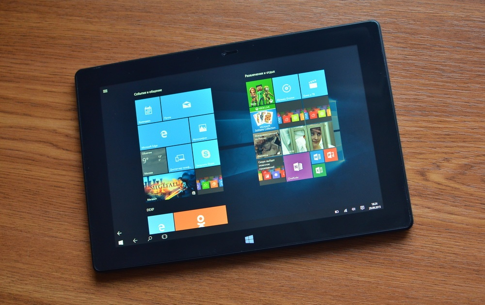 Планшет-трансформер с предустановленной Windows 10: обзор «трансформера» DEXP Ursus KX110-KX110i на Intel® Atom™ - 14