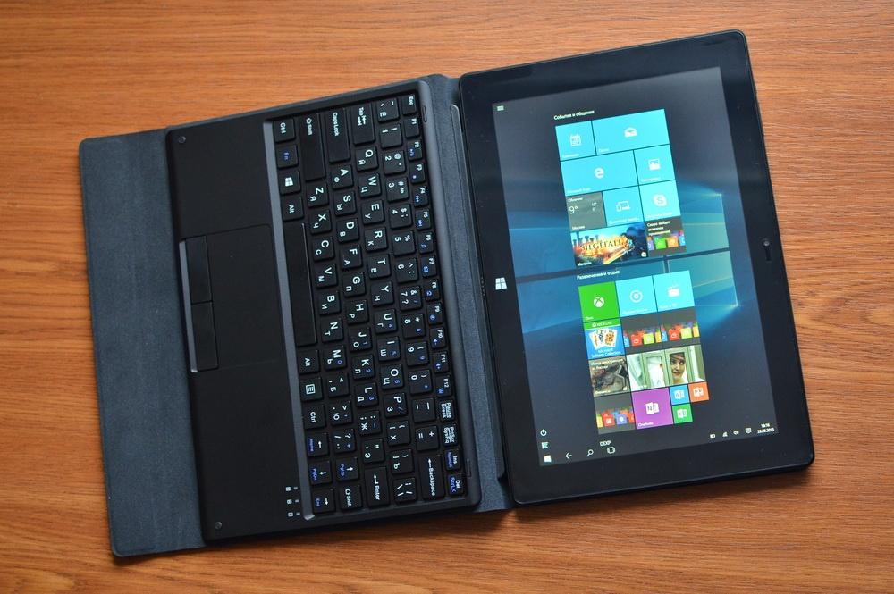 Планшет-трансформер с предустановленной Windows 10: обзор «трансформера» DEXP Ursus KX110-KX110i на Intel® Atom™ - 20