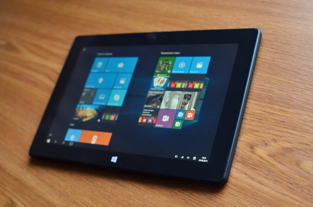 Планшет-трансформер с предустановленной Windows 10: обзор «трансформера» DEXP Ursus KX110-KX110i на Intel® Atom™ - 24