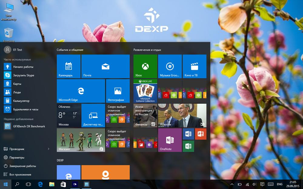 Планшет-трансформер с предустановленной Windows 10: обзор «трансформера» DEXP Ursus KX110-KX110i на Intel® Atom™ - 27