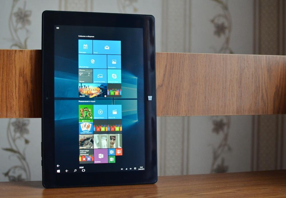 Планшет-трансформер с предустановленной Windows 10: обзор «трансформера» DEXP Ursus KX110-KX110i на Intel® Atom™ - 1