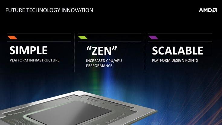 Разработка процессоров AMD Zen и K12 завершена, первые модели подготовлены к передаче в производство - 1