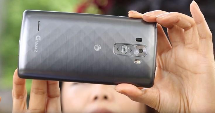 Смартфон LG G Vista 2 будет располагать большим экраном