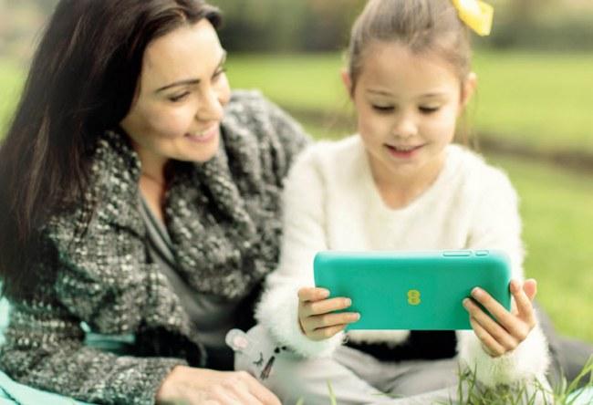EE представила планшет Robin, предназначенный для детей и их родителей