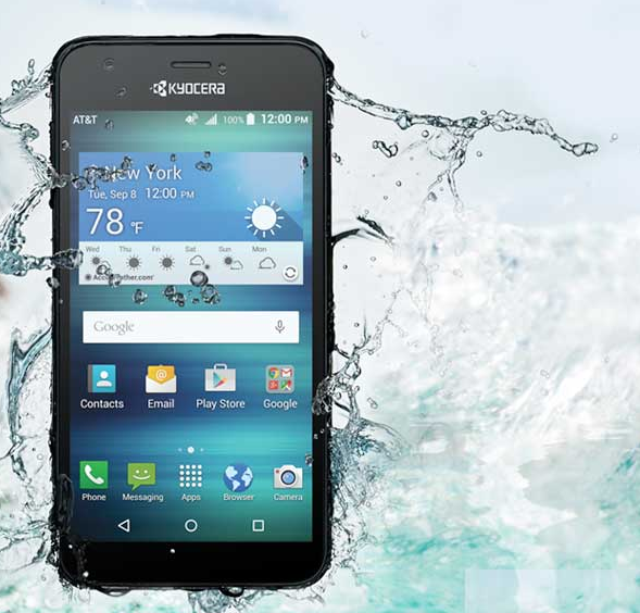 Смартфон Kyocera DuraForce XD и Hydro Air не боятся воды и падений