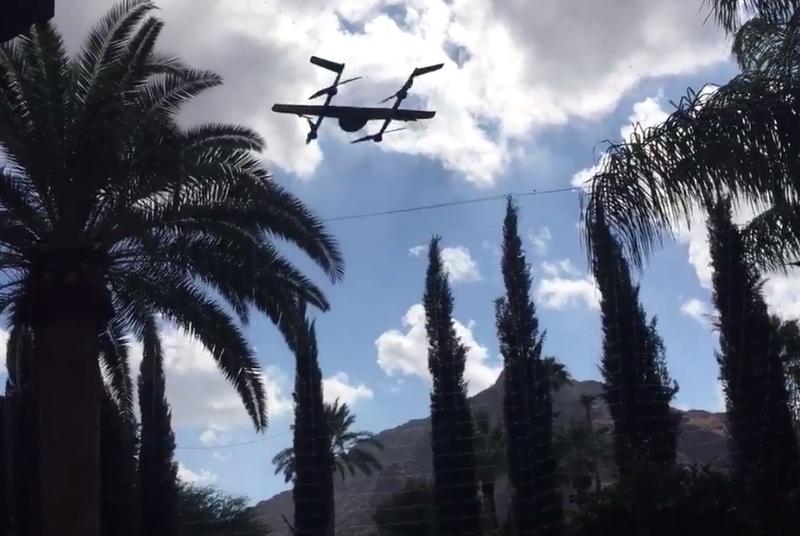 Project Wing, проект системы доставки при помощи дронов от Google, проходит фазу тестирования - 1