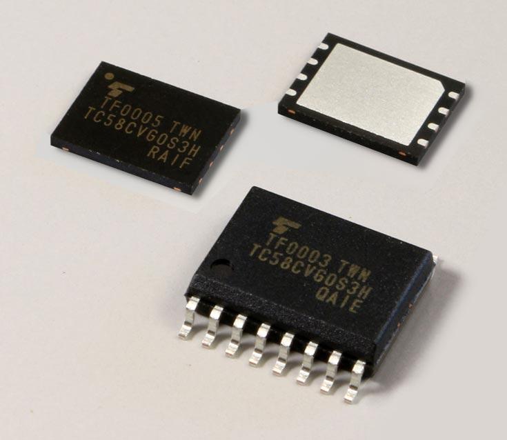 Новые микросхемы флэш-памяти Toshiba оснащены последовательным интерфейсом