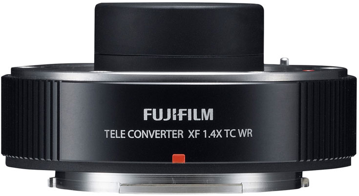 Телеконвертор Fujinon XF1.4X TC WR тоже имеет защиту от атмосферных воздействий