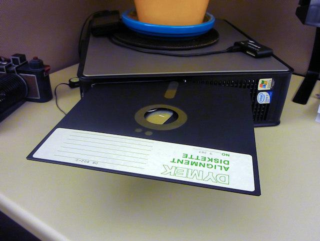 Эволюция носителей информации: о перфокартах, магнитных плёнках и дискетах - 13