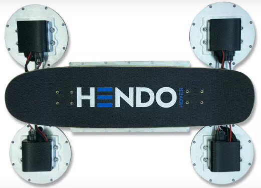 Arx Pax показала новую версию ховерборда Hendo