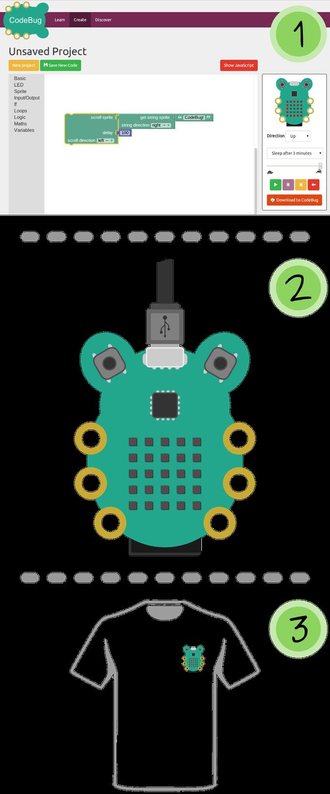 CodeBug поможет обучиться программированию «железа» и ребенку и взрослому - 3