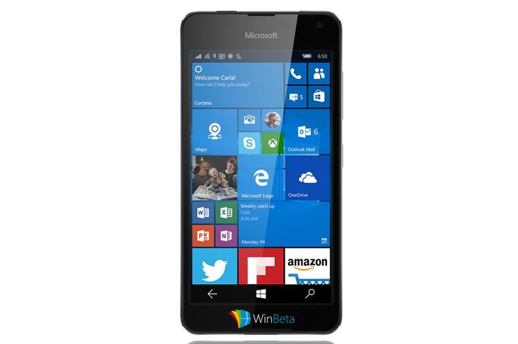 Смартфон Microsoft Lumia 650 будет очень похож на младшую модель