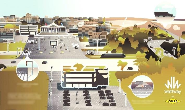 Французская компания собирается превратить автомобильные дороги в солнечные электростанции - 2