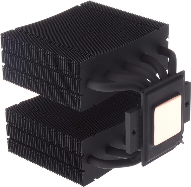 Габариты процессорного охладителя ID-Cooling VC-Twin составляют 141 х 153 х 160 мм, масса — 1418 г
