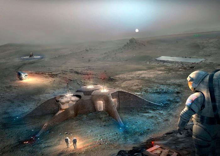 НАСА выбрало лучшие проекты для марсианской базы - 2