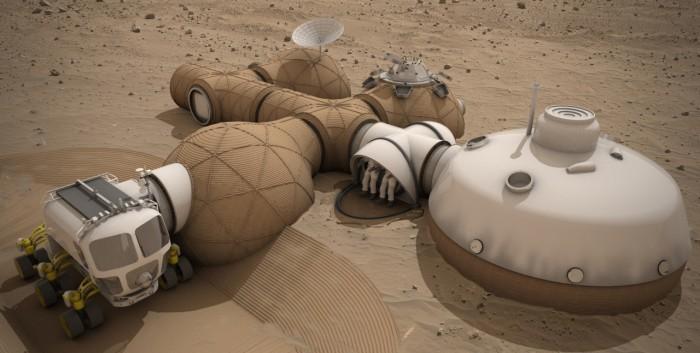 НАСА выбрало лучшие проекты для марсианской базы - 3