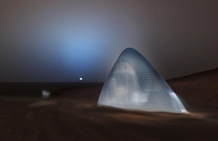 НАСА выбрало лучшие проекты для марсианской базы - 1