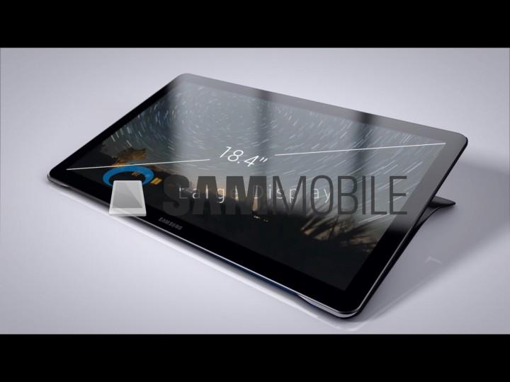 Планшет-моноблок Samsung Galaxy View получит подставку с ручкой
