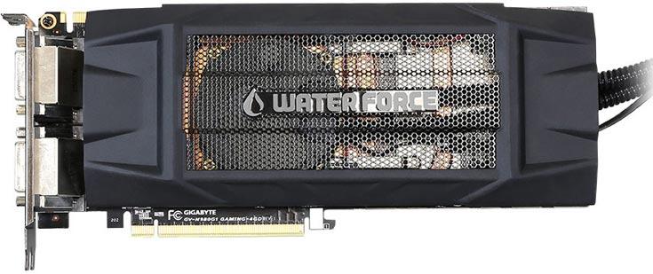 В комплект поставки 3D-карты Gigabyte GeForce GTX 980 WaterForce входит игровой коврик для мыши