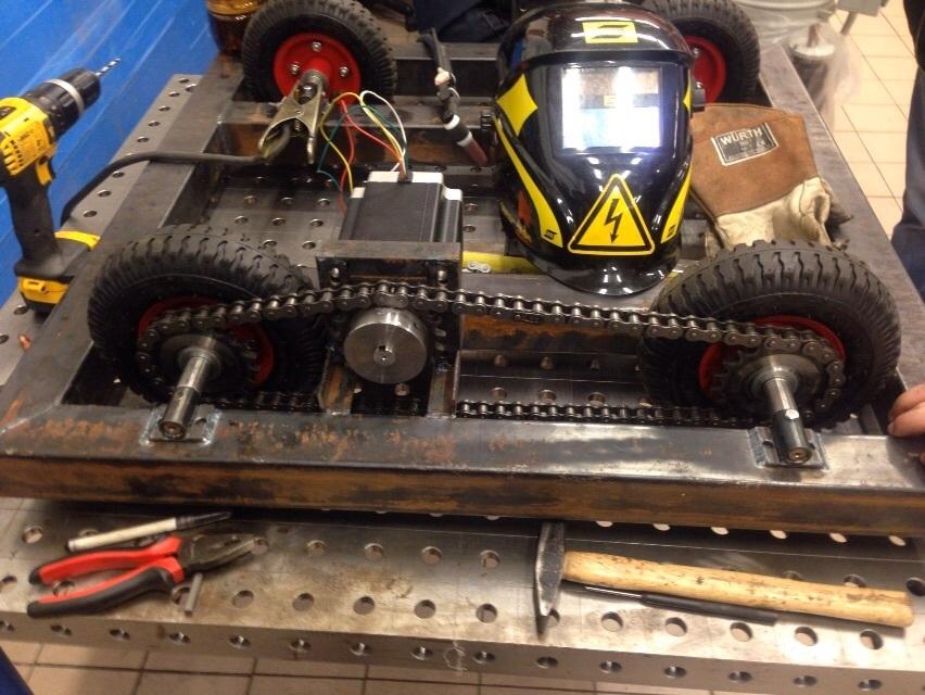 DIY: делаем боевого робота в домашних условиях. Часть 1 - 10