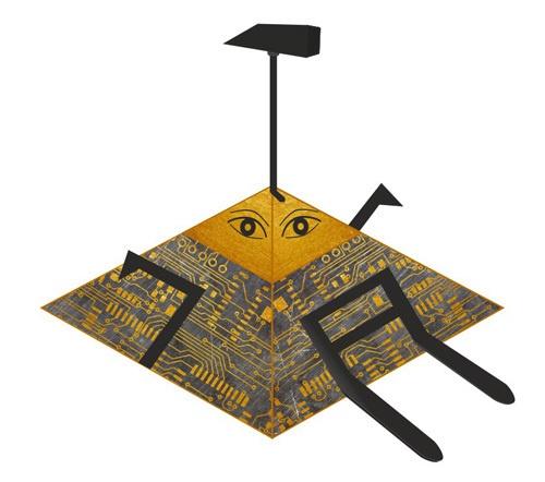 DIY: делаем боевого робота в домашних условиях. Часть 1 - 6