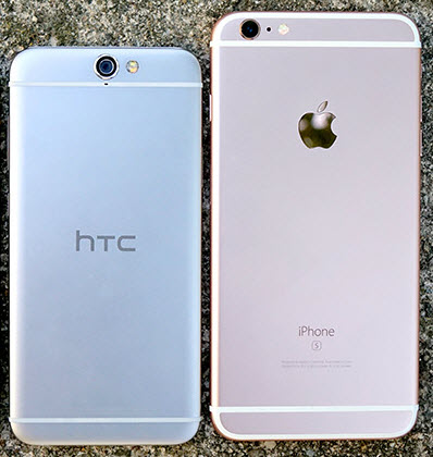 HTC заявляет, что это Apple скопировала дизайн HTC One для iPhone 6