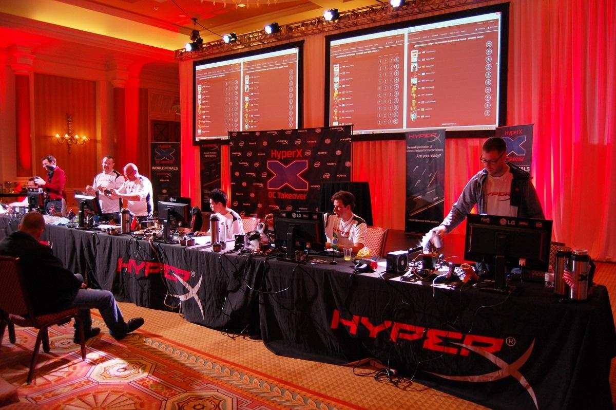 [Информационный пост] HyperX представляет соревнования для оверклокеров HyperX OC Takeover с призовым фондом 15 000 USD - 2