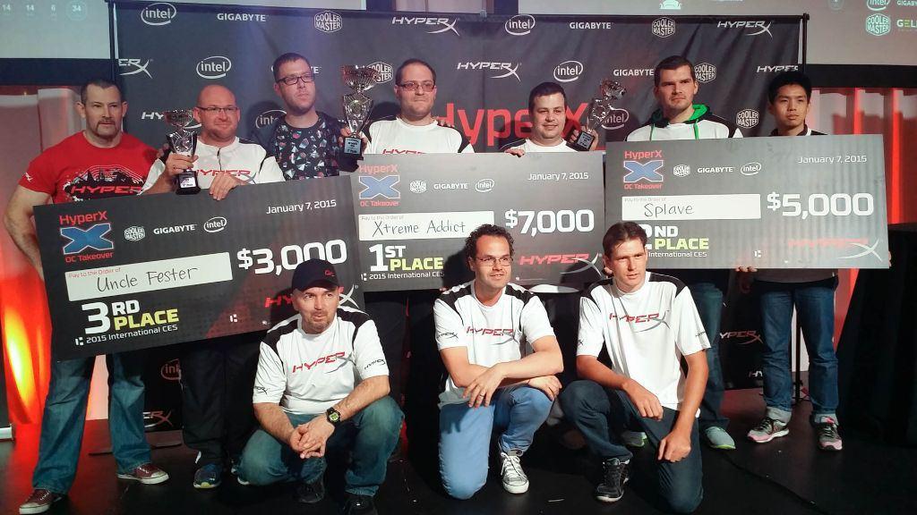 [Информационный пост] HyperX представляет соревнования для оверклокеров HyperX OC Takeover с призовым фондом 15 000 USD - 4