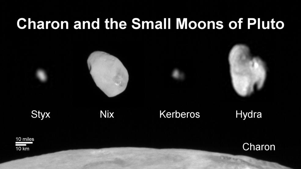 Станция New Horizons сфотографировала последний из спутников Плутона: Кербер - 2