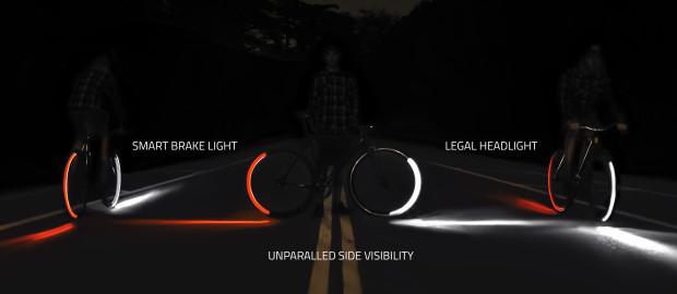 Система габаритной подсветки для велосипеда Revolights Eclipse оценена в $149