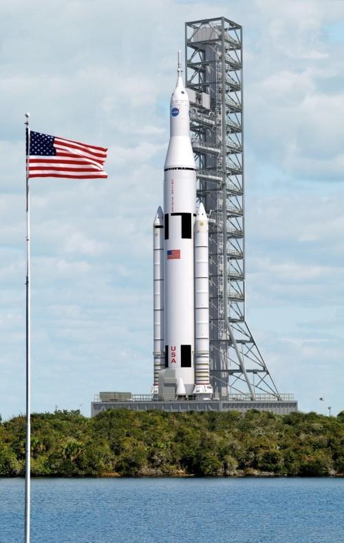 Сверхтяжёлая ракета-носитель SLS утверждена и отправлена в производство - 2